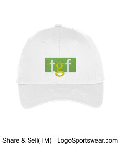 TGF Hat (White) Design Zoom