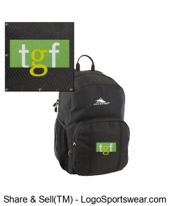 TGF Backpack (Black) Design Zoom