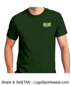 TGF Tshirt (Green) Design Zoom